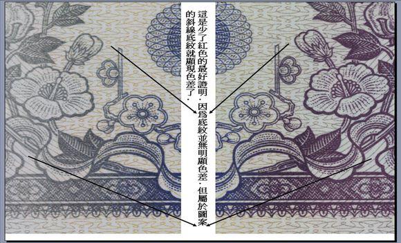 第三版漏色错版纸币价格严重估低